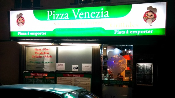 Pizza Venezia Devanture