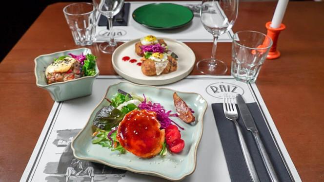 Sugestão do chef - Raiz, Porto