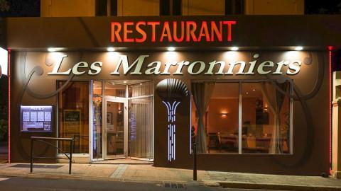restaurant - Les Marronniers - Combes