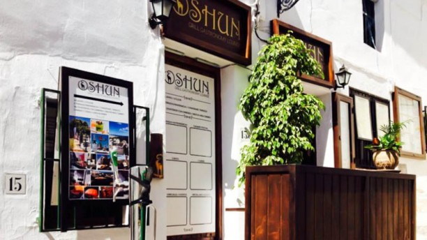 Oshun Gastronomy Lounge Vista entrada
