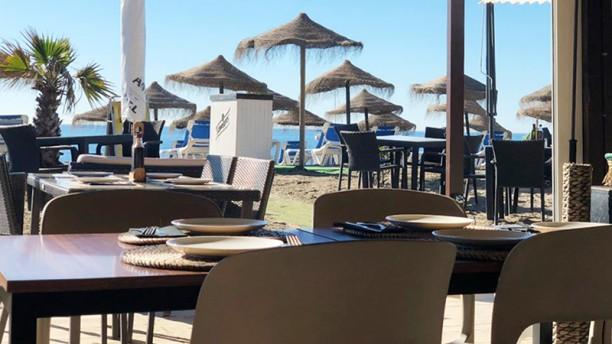 Chiringuito, Asucar Beach Vista terraza