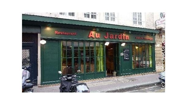 Au jardin paris 9 me op ra grands boulevards avis for Restaurant au jardin paris