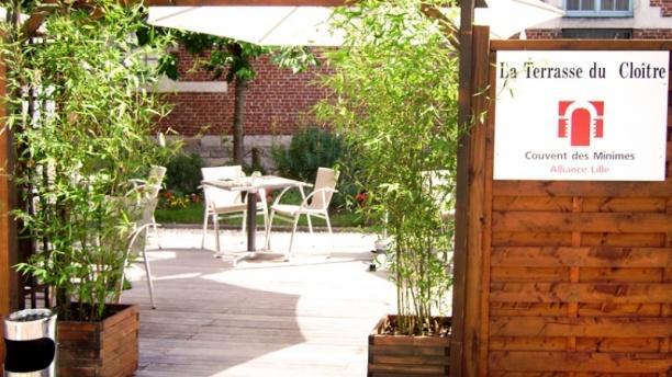 Le jardin du clo tre h tel couvent des minimes lille for Hotel du jardin menu