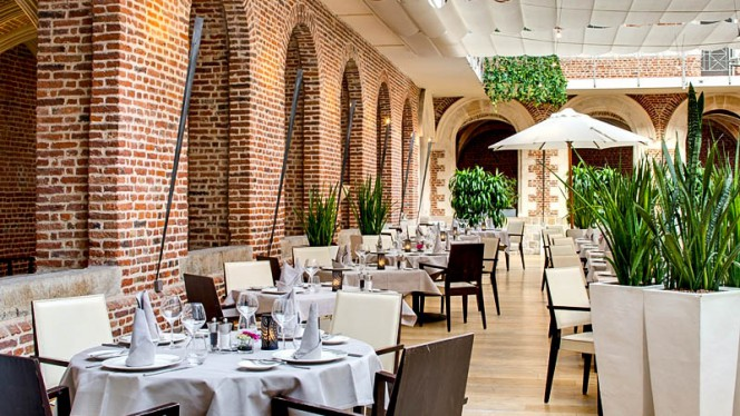 Le Jardin du Cloître - Hôtel Couvent des Minimes - Restaurant - Lille