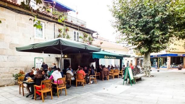 Balcón de Floreano La terraza