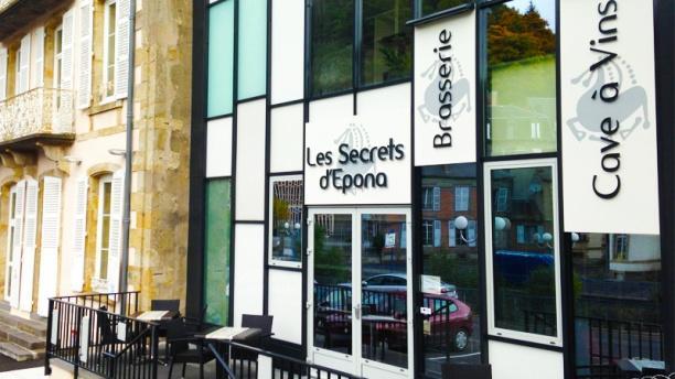 Les Secrets d'Épona Facade Brasserie
