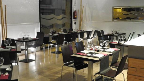 Sushiteka Sala del restaurante