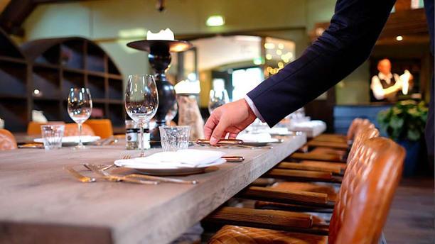 Veluwse Huyskamer Detail van de tafel