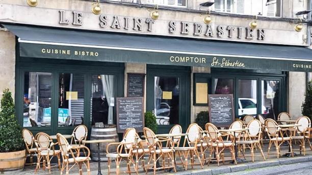 Comptoir Saint Sébastien Vue devanture
