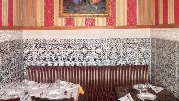 Chez Tiouiche Détail de la table