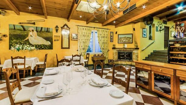 La Cocina de la Abuela María Vista de la sala