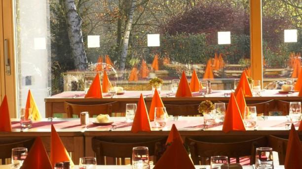 La Table de Froidmont Vue des tables
