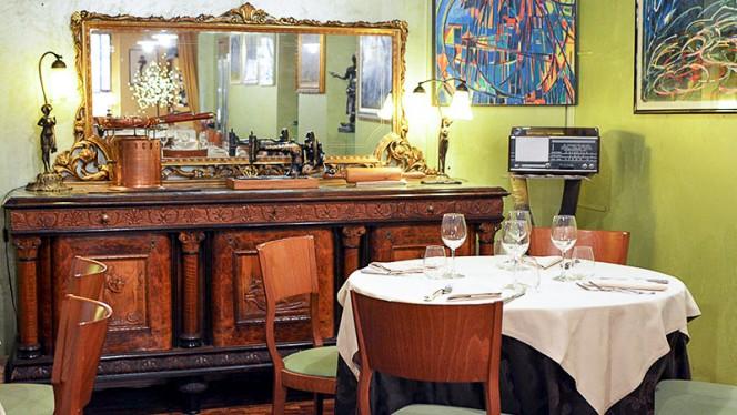 Particolare sala - Ristorante Giovanni, Torino
