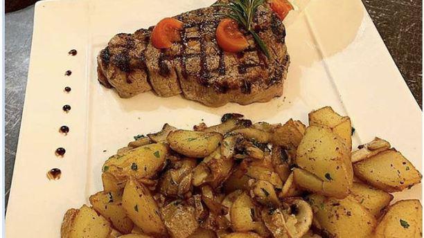 Restaurant Napoli feu de bois plat