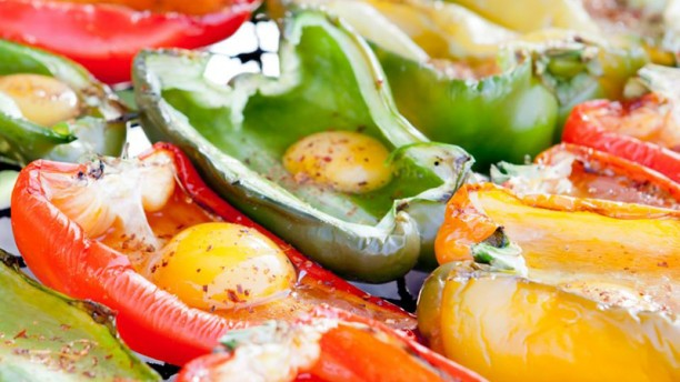 La Vacantina Pimiento asado relleno