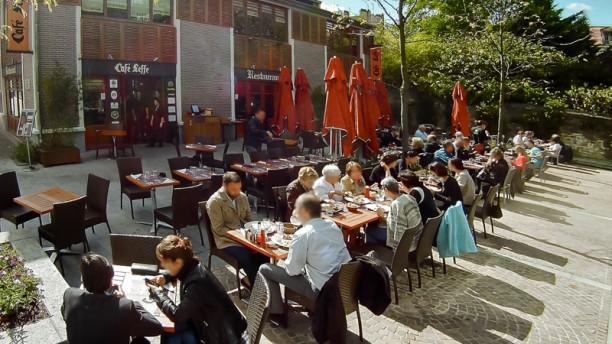 Café Leffe - CLRM Terrasse du Café Leffe