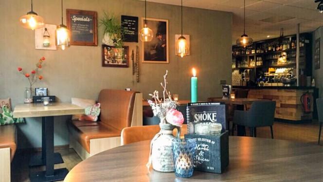 restaurant achter - The Smokehouse, Bunschoten-Spakenburg