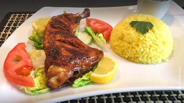 Kadyz Cuisine du Monde Poulet Tandoori, Riz Safrané