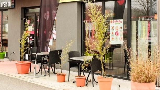 O Sushi L'extérieur du restaurant
