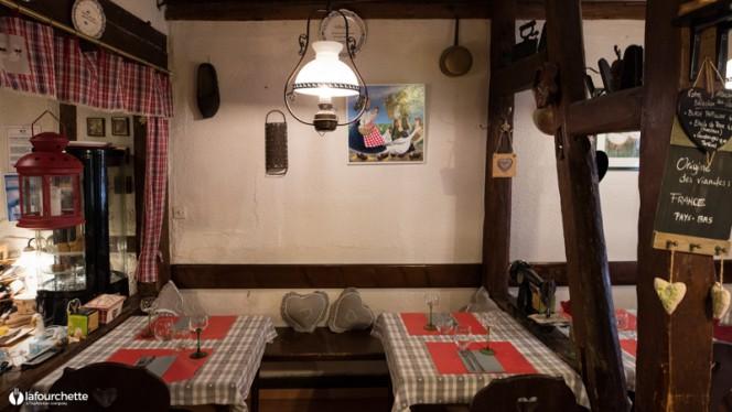 Vue de la salle - Chez Tante Liesel, Strasbourg