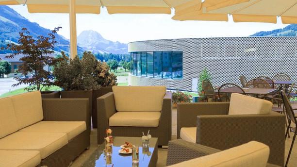 Quatre Saisons restaurant gastronomique / Hôtel Cailler terrasse
