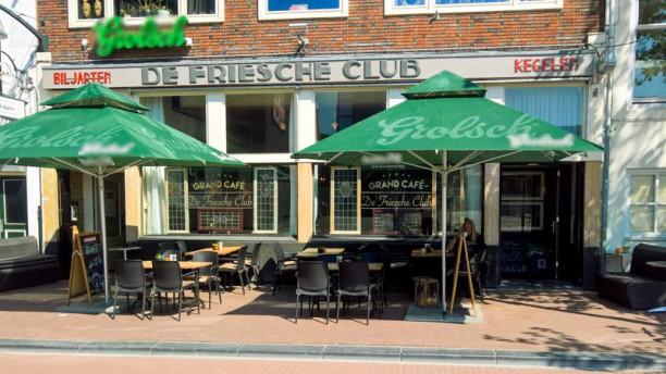 De Friesche Club Ingang