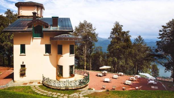 Villa Pizzini Facciata del ristorante