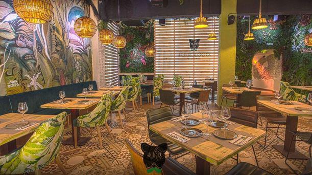 Perroloco FoodxBar Sala del restaurante