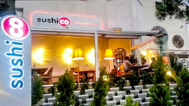 Sushico Bahçeşehir The entrance