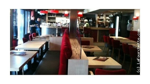 L'Écu de France Gourmet Salle du restaurant