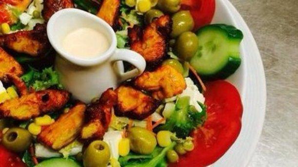 Caspian Entrée Salade