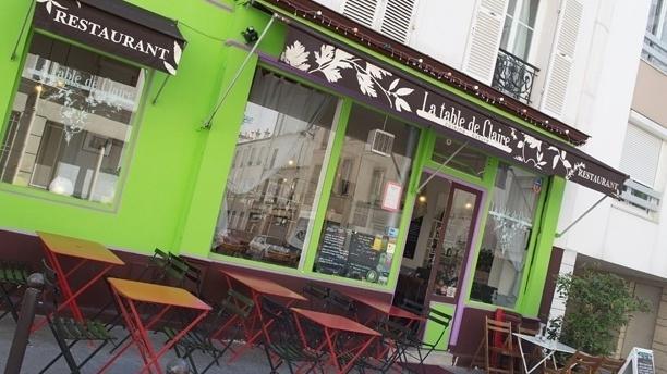 La Table de Claire Bienvenue au restaurant La Table de Claire