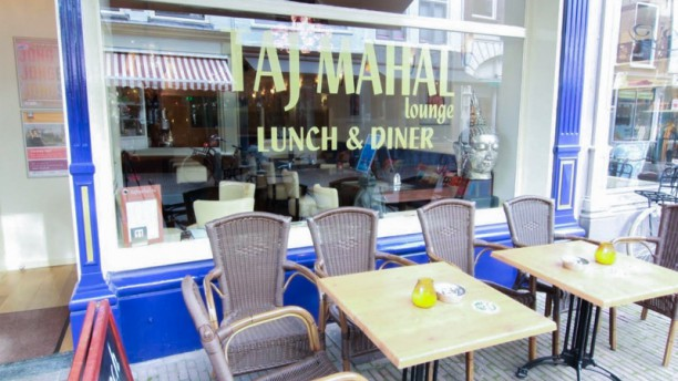 Taj Mahal Lounge Terras