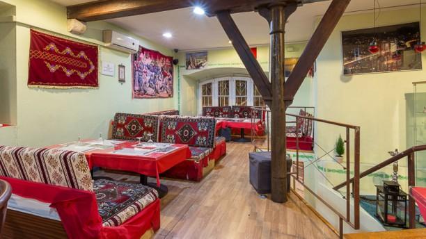 Dervixe - Restaurante Turco Sala do restaurante