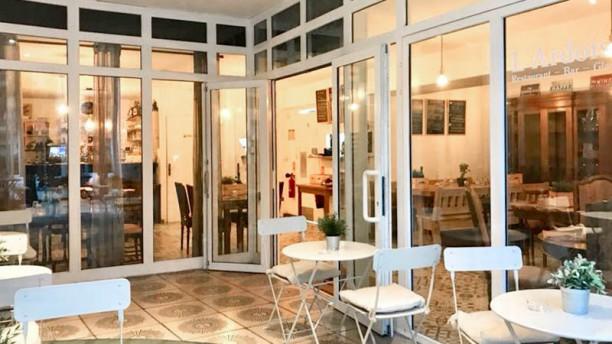 Restaurant L'Ardoise Chez Magali et Nicolas Terrasse