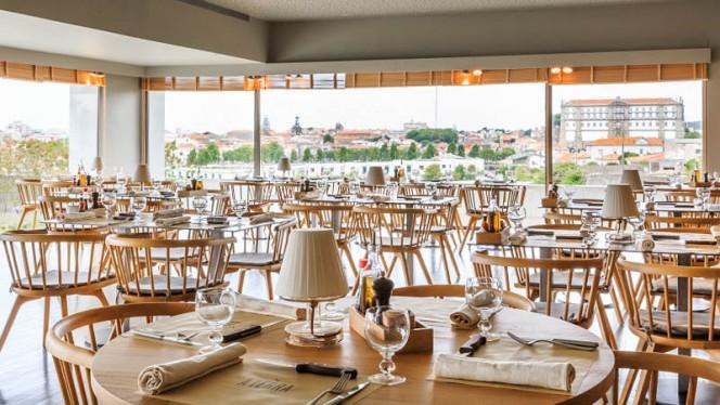À Terra Villa C ristorante continentale a Vila do Conde in Portogallo