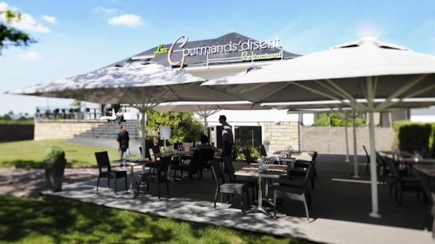 Les Gourmands Disent Restaurant avec terrasse