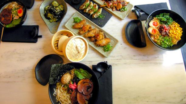 KOPPU RAMEN + IZAKAYA Sugestão do chef - pratos de izakaya