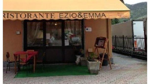 Ristorante Ezio e Emma entrata