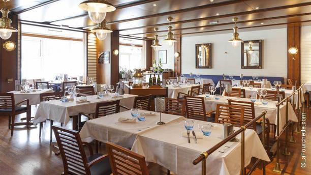 Brasserie Lyon Plage - Hôtel Lyon Métropole Vue de la salle