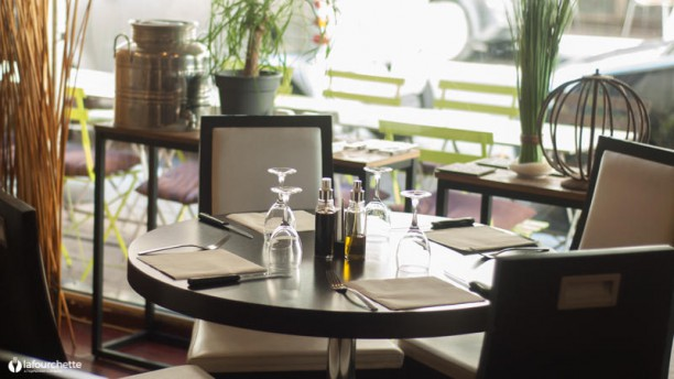 Café Bovo Table dressée