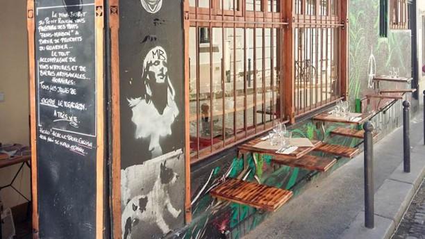 Le Petit Moulin entrée / terrasse