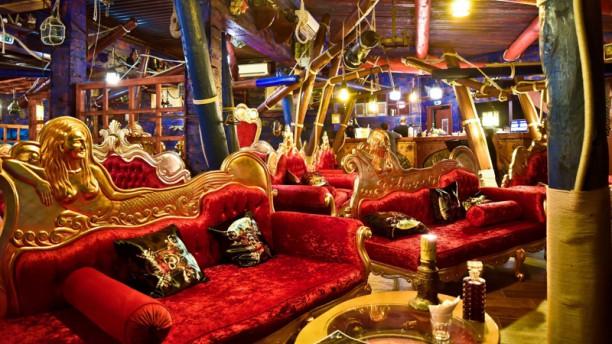 Lounge bar Poséidon Vue de la salle