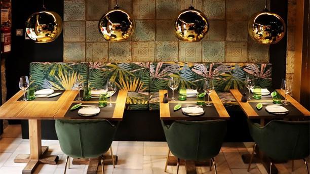 Sto Globo Sushi Room Vista sala