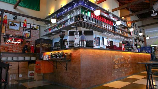 Bar Providência vista do interior