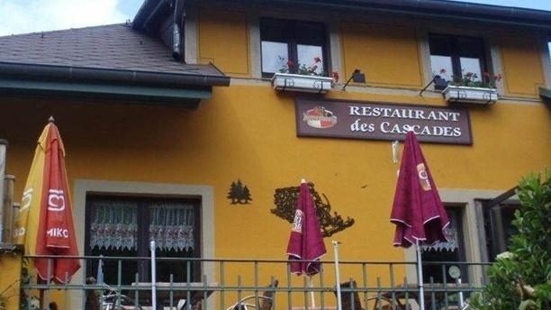 Restaurant des Cascades La devanture