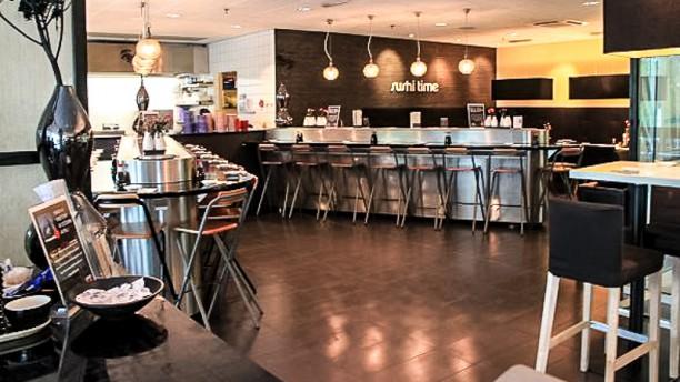 Sushi Time WTC restaurantzaal
