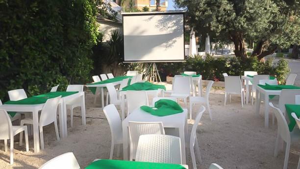 Basilicò Vista giardino con maxi - schermo