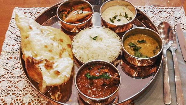 Wandi Le midi: le thali du jour