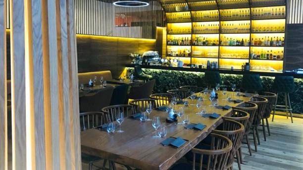 8 Oak Steakhouse Vue de la salle